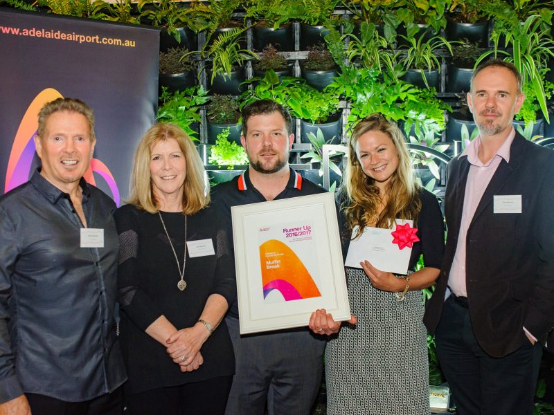 Muffin Break Adelaide Airport Comes Runner-Up at Retailer of the Year Awards