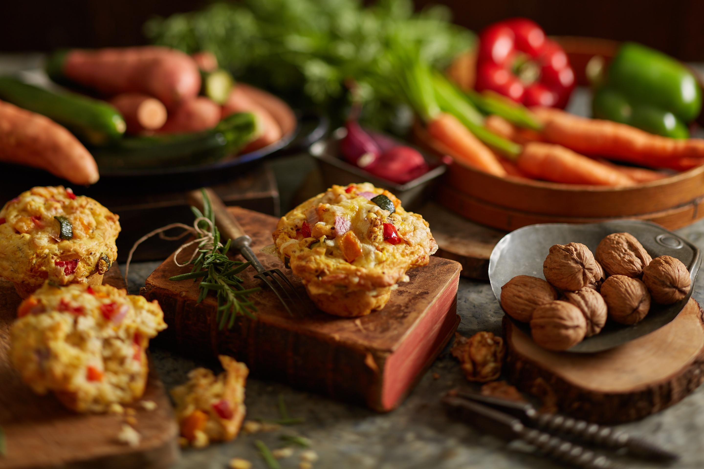 VegeBake Vegetarian Muffin